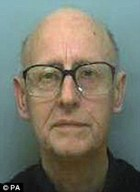 Jailed: Richard White pleaded guilty to abusing two boys at Downside, a Roman Catholic public schoolnk, pleaded guilty to abusing two boys at Downside, a Roman Catholic public school