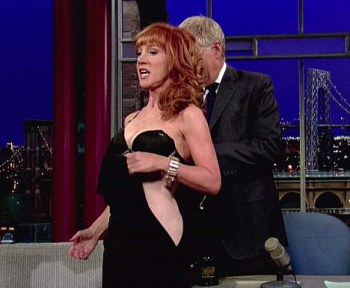 Shrinking violet: The confident TV star ha already stripped during a New year's Eve broadcast with Anderson Cooper