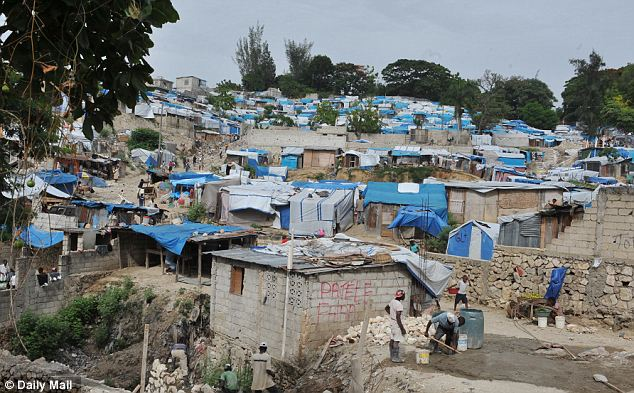 Two years after the Haiti quake, only 4,769 new houses have been built, and 13,578 homes repaired, while 520,000 people remain in squalid camps