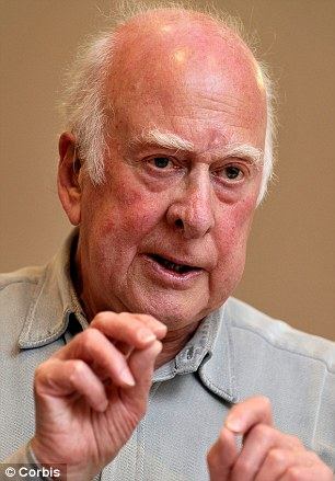 Invite: Peter Higgs, the professor the particle is named after, has been asked to attend the press conference at Cern