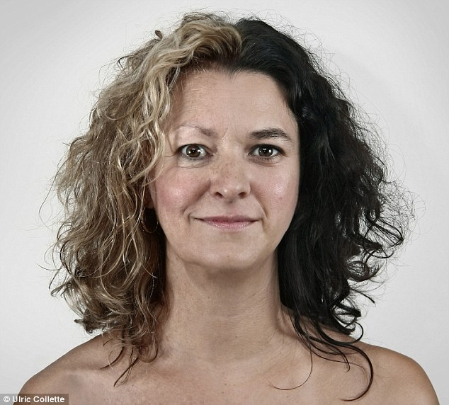 Generation gap: Mother Julie, 61 (left) and her daughter Isabelle, 32, share many of the same facial features, as well as the same curly hair