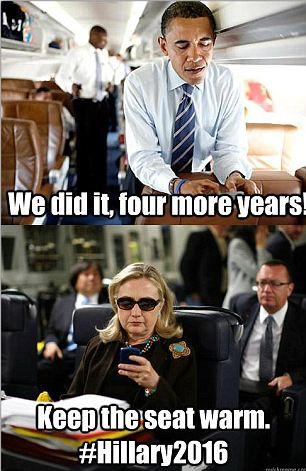 Bringing Hillary back: New versions of the popular 'Texts from Hillary' meme re-emerged