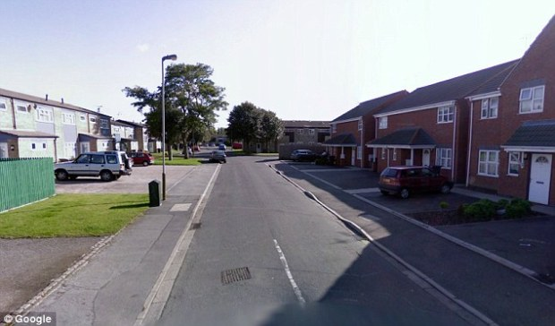 Devastating: Louis Burdett killed Taliqa Fields at her home in Leicester (Pictured: General view of the street)