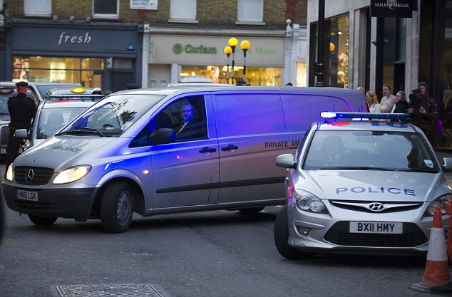 Mrs Saldanha's body was found at staff lodgings close to King Edward VII hospital in London yesterday