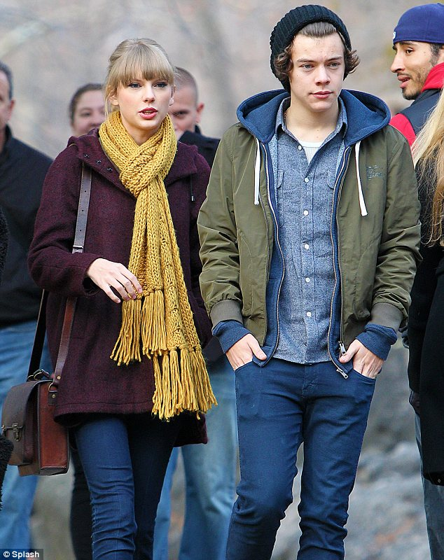 Famous friends: It appears that Justin and Selena were in Utah with pal Taylor Swift and her boyfriend Harry Styles