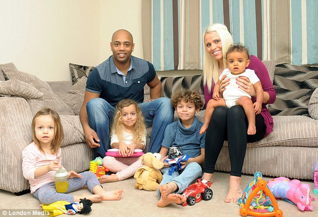 'It's so nice having children who are all a bit different. They are all gorgeous and we love them all the same', said Tess Giddings