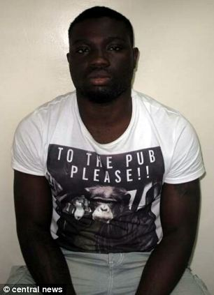 Derrick Mensah, 20, of Stoke Newington, north London, admitted four counts of fraud