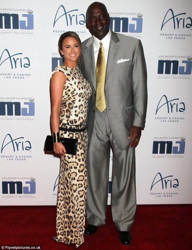 Proceeding with caution: Michael Jordan has reportedly made his fiancee Yvette Prieto sign a prenuptial agreement