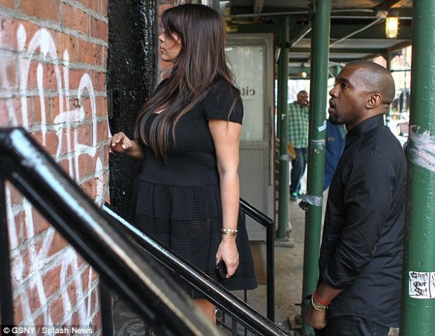 Here goes: Kanye has got Kim's back
