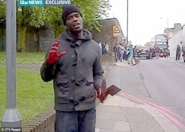 This man has been identified on internet forums and Twitter as Michael Adebolajo