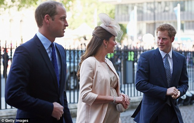 Squeaky clean? Prince Harry arrives at Westminster Abbey for the coronation celebrations - hopefully after a shower