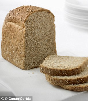 Daily bread: You could be inadvertently eating high-fructose corn syrup in your lunchtime sandwich - many supermarket bread brands contain the syrup, which helps to extend shelf life