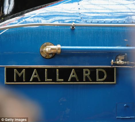 Mallard was one of 35 near-identical A4-class locomotives designed by renowned engineer Sir Nigel Gresley