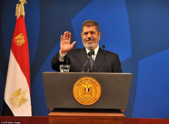 Egyptian President Mohamed Morsi has been overthrown by the military and has been moved to an undisclosed location
