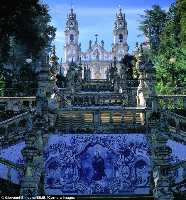 Port of call: The Shrine of Our Lady of Remedies in Portugal's Lamego