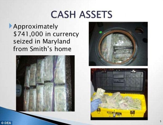 Smith stockpiled cash easily as he cleared $10,000 profit on each kilogram