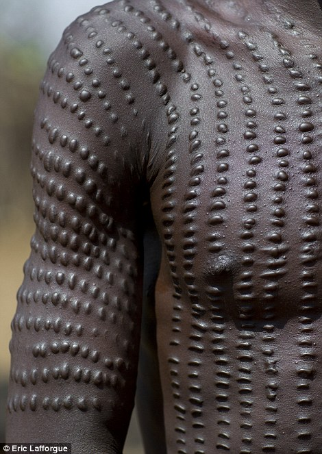 A closer look at Toposa tribe markings