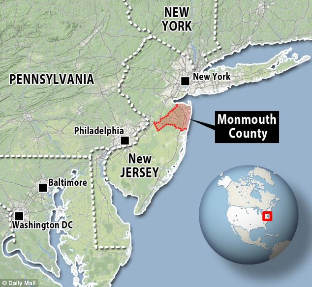 Amateur palaeontologist Gregory Harpel discovered the bone on an embankment upstream of his usual fossil-hunting haunt in Monmouth County, New Jersey, where he was searching for fossilised shark teeth