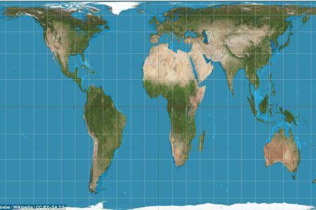 why every world map you're looking at is wrong africa
