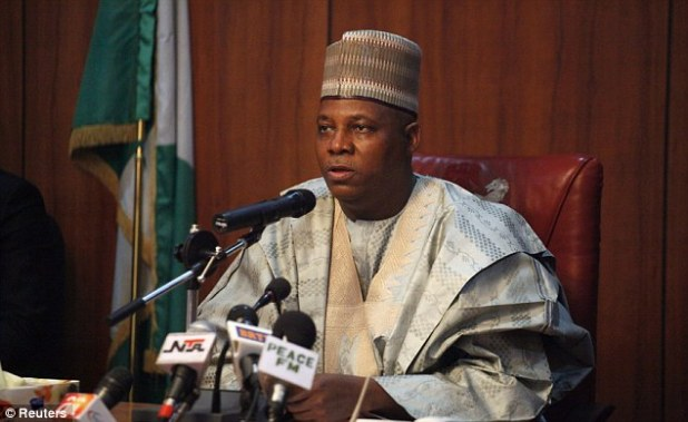 Borno state Governor Kashim Shettima said that he'd received reports of sightings of schoolgirls kidnapped by extremist group Boko Haram