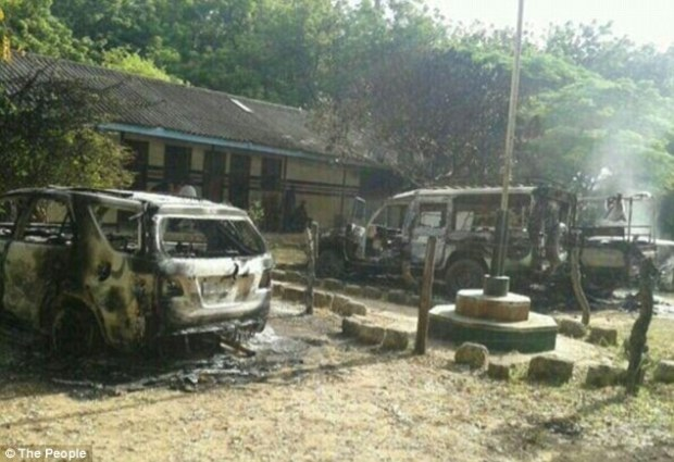 The attack happened in Mpeketoni, which is about 30-miles southwest of the tourist centre of Lamu