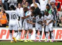 Jadwal Pertandingan Premier League Swansea City vs AFC Bournemouth