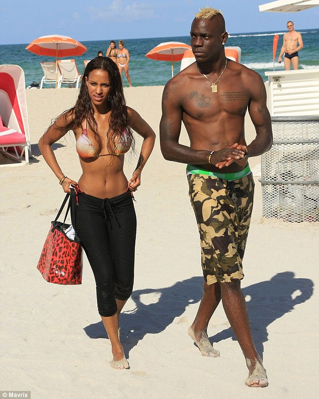Fanny Neguesha has talked about her split from fiance Mario Balotelli for the first time in a Belgian magazine