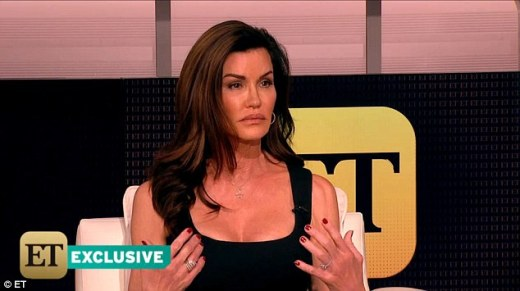 Shocking claim: Supermodel Janice Dickinson (above) has come forward to say she was drugged and rapped by Bill Cosby in 1982