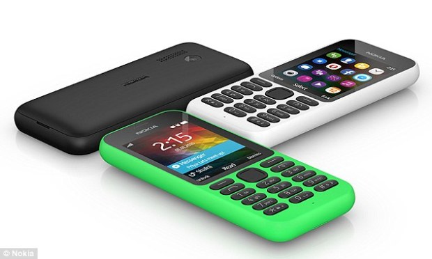 The handset also boasts Bluetooth, so can be connected to a headset or speaker.