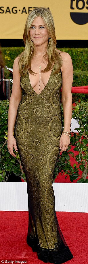 Jennifer Aniston, 46, was named to have the most desirable stomach