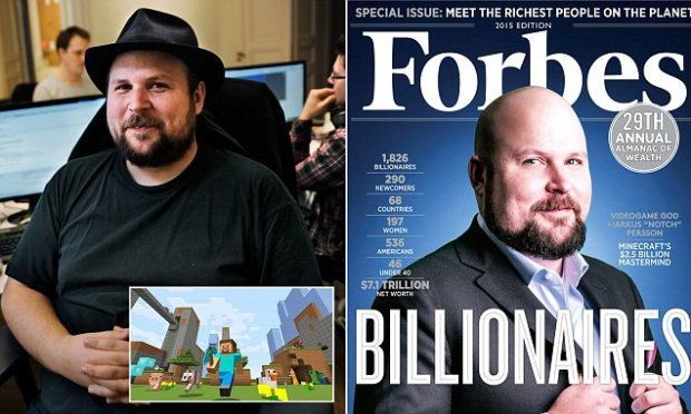 Minecraft inventor Markus Persson has 'never felt more isolated' since selling company
