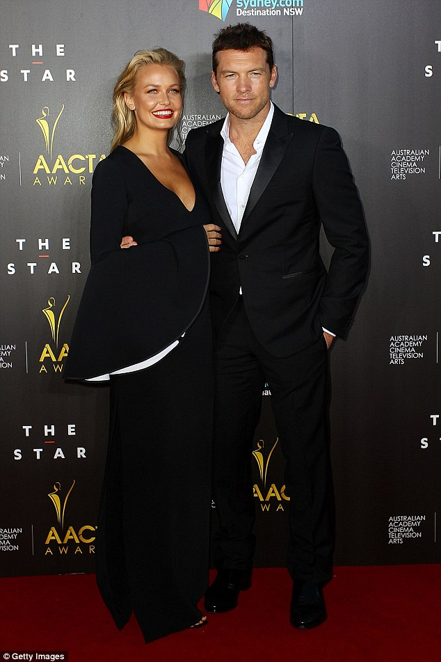 Celebrity couple: Lara and Sam began dating in September 2013, and after months of speculation the model has confirmed she is a wife