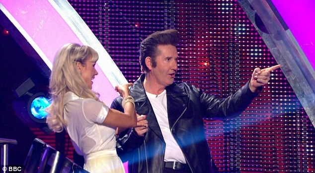Fun:Beloved Irish singer Daniel O'Donell played Danny Zuko from 1978 movie Grease as he starred opposite Kristina Rhianoff.