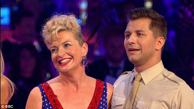 Bottom:Seemingly saving the very best till last - opening the show with BBC weather woman Carol Kirkwood and Pasha Kovalev who eventually sank to the bottom of the leader board