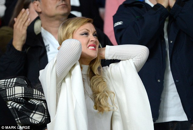 Oh no! Camilla was in the crowd during the now-infamous England v Wales game, and has since said that she is there for Chris 'when he's ready'