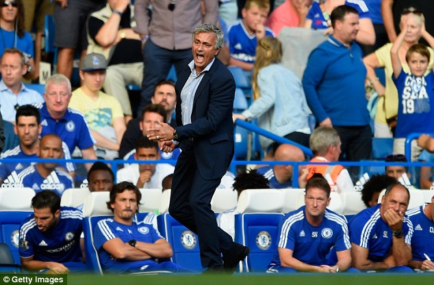 Mourinho was furious after Carneiro and Fearn ran on to treat Hazard and called them 'naive'