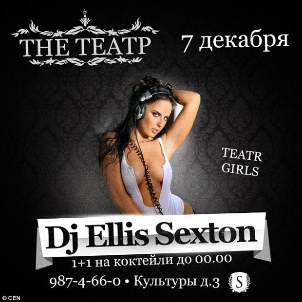 The Russian woman had several photoshoots to try and push her career outside of work as a DJ