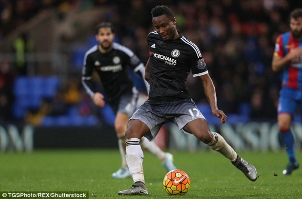 Hiddink said that Jon Obi Mikel was an 'ideal player' to help provide balance to Chelsea's play