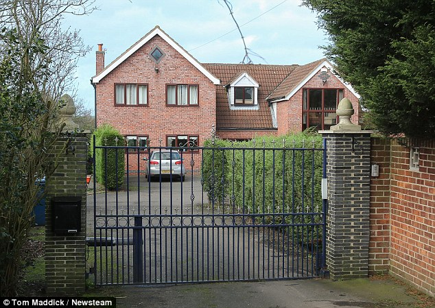 Property: Dr Nyatsuro and his wife live at this £700,000 home with five bedrooms outside Nottingham
