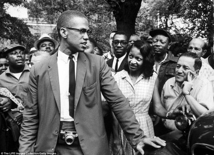 The Panthers followed the teachings of Malcolm X, who believed that blacks and whites could not co-exist peacefully and advocated violence in order to protect his followers