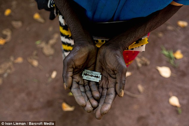 Millions: Across the world - from Columbia to Indonesia - there are thought to be 125million living with FGM
