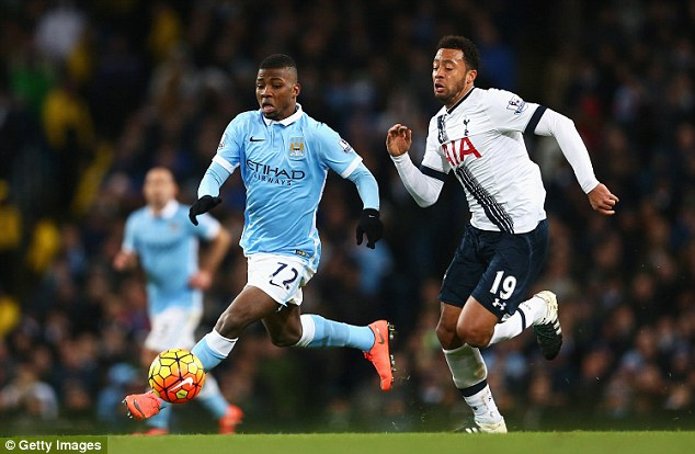 Despite expecting to spend this season in City's development squad, Iheanacho has played 17 league games