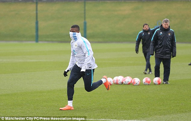 Despite emerging as a City star, Iheanacho says he still has to keep his head down and work hard