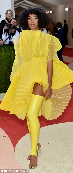 Hello sunshine: Demi Lovato, Solange Knowles and Princess Charlotte of Monaco incorporated bursts of yellow into their looks