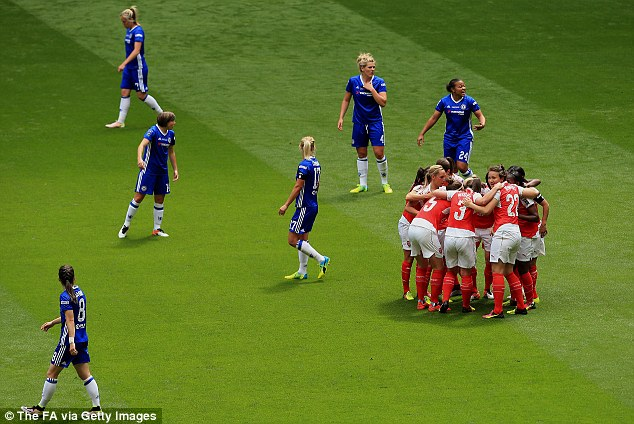 The Chelsea players were left only to blame each other after Carter got past several players before scoring