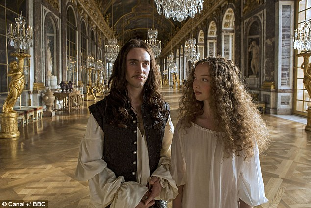 The show looks set to make international stars of its casts including George Blagden as Louis XIV and Alexia Giordano as Nymphe