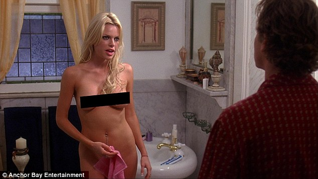 Bad offer: Sophie Monk has revealed she was propositioned by a well-known male celebrity to make a sex tape and split the profits live on The Thinkergirls on Friday (pictured in film Sex and Death 101 2007)