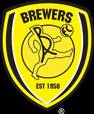 burton albion s badge appears to be linked the popular skegness is so bracing