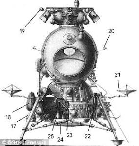 In the 1960s the Soviets began developing their own designs for a manned mission to land on the moon with its N1-L3 Lunar Lander