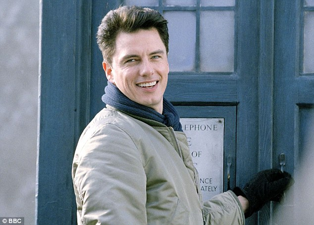 World famous: He guest starred asCaptain Jack Harkness for five years on Doctor Who
